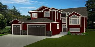 house above garage house plans
