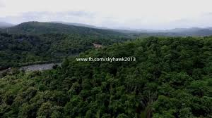 eastern and western ghats aerial view of the western ghats with an amazing waterfall youtube