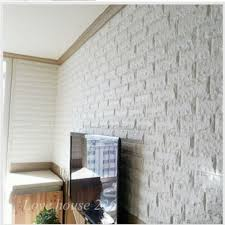 3d Wallpaper Interior Korean Design Easy Install Sticky Wallpaper Interior Foam Block