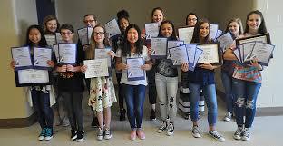 junior high school yearbooks bryant middle school yearbook staff garners dozens of aspa honors
