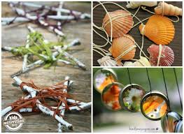 outdoor ornaments to make with activities