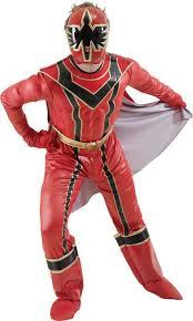 red power ranger costume men