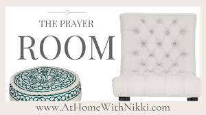 home decor prayer room makeover youtube