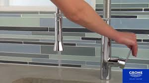 Pro Kitchen Faucet by Grohe K7 Semi Professional Kitchen Faucet Youtube