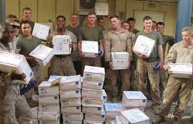 care packages for soldiers u s soldiers and marines with care packages