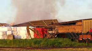 Hay In The Middle Of The Barn Song Fire Destroys Barn Hundreds Of Tons Of Hay At Mount Angel Dairy