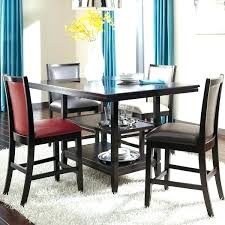 bar height dining table canada high room tables and chairs gloss