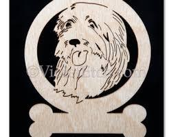 belgian shepherd ornament sheepdog ornament etsy