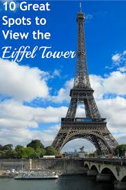 Eiffel Tower Floor Plan 10 Great Places To View The Eiffel Tower In Paris Hilton Mom Voyage