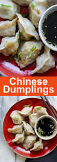pork and chive dumplings easy delicious recipes
