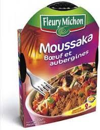 plat cuisiné fleury michon moussaka de fleury michon avis et tests conserves plats
