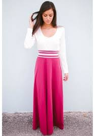 long maroon maxi dress with white top on the hunt