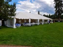 canopy rentals bend oregon tent rentals canopy tent rentals bend or