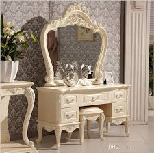 Bedroom Dresser 2018 Factory Price Royaleuropean Mirror Table Modern Bedroom