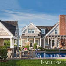 Nantucket Style Homes by Nantucket Home With A Quiet Palette Traditional Home