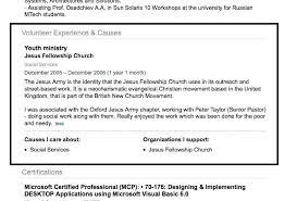 volunteer report template resume template with volunteer experience resume templates