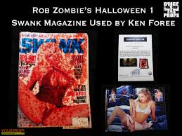 halloween rob zombie u0027s swank magazine original movie prop