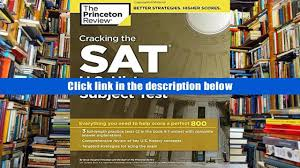 download pdf cracking the sat u s history subject test college