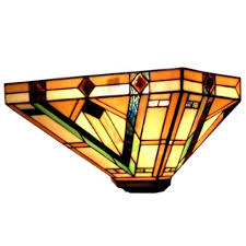 Tiffany Sconces Mission Tiffany Lamps Lighting Stained Glass Arts U0026 Crafts Craftsman