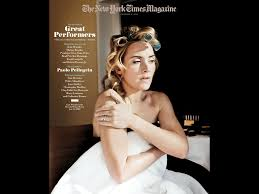 the new york times gt the new york times magazine great performers kate winslet 1