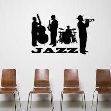 jazz home decor jazz concert art mural decor sticker jazz lover home decor