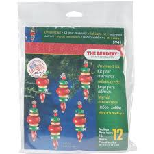 faceted snowmen ornament kit walmart
