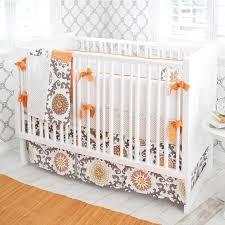 ragamuffin in tangerine baby bedding by new arrivals baby crib
