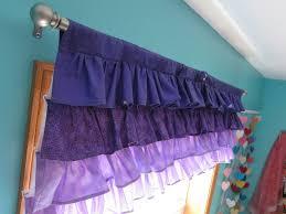 Purple Ombre Curtains All Sorts Of Random Little Mermaid Purple Ombre Ruffle Valance