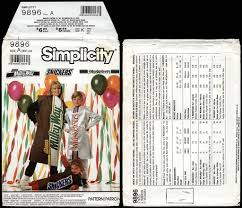 simplicity halloween costume patterns candy wrappers as halloween costumes collectingcandy com