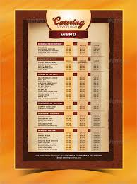 indian menu template catering menu template templates franklinfire co