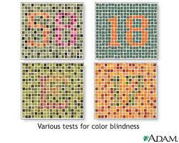 Test To See If You Are Color Blind Color Blindness Tests