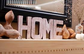 artistic home wooden letters home sweet home pinterest