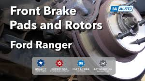 02 ford ranger parts how to install replace front brakes pads rotors 1995 02 ford
