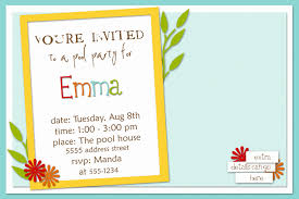 template lovely personalized email birthday invitations with hd