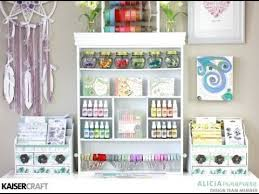 Jennifer Mcguire Craft Room - video tour of my craft room youtube