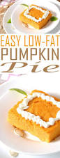 Crustless Pumpkin Pie by Weight Watchers Pumpkin Pie Just 1 4 Smart Points Per Serving