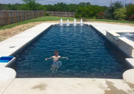 new great lakes in ground fiberglass pool by san juan we installed this regulus fiberglass pool by trilogy pools the