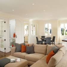Light Brown Couch Decorating Ideas by Wall Colours For Kitchen According To Vastu White Cabinetry Tan