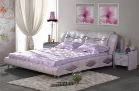 fashion bedroom leather bed fashion bedroom furniture