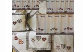 gardinen für die küche landhaus vorhänge küche