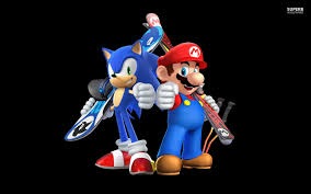 mario and sonic wallpaper pc laptop 50 mario and sonic