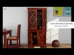 kitchen cabinets u2013 buy loren kitchen cabinet online in honey