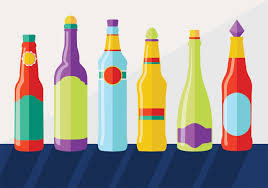 cartoon beer bottle beer bottle free vector art 2292 free downloads
