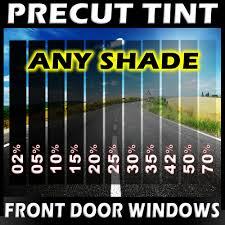 precut film front door windows any tint shade vlt for chevrolet