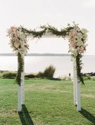 wedding arbor wedding spotlight may at sea pines flowers by freshcuts