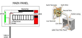circuit diagram 13 amps switch socket easy diy tips