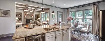 model home interior two ryland homes atlanta models recognized for best interior