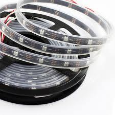 outdoor led strip lights waterproof ws2812b dc5v series flexible led strip lights programmable pixel