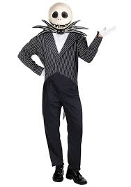 Halloween Costumes Nightmare Christmas Jack Skellington Costume