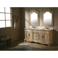 Antique Black Bathroom Vanity Traditional Antique White Bathroom Double Sink Vanity W Cream